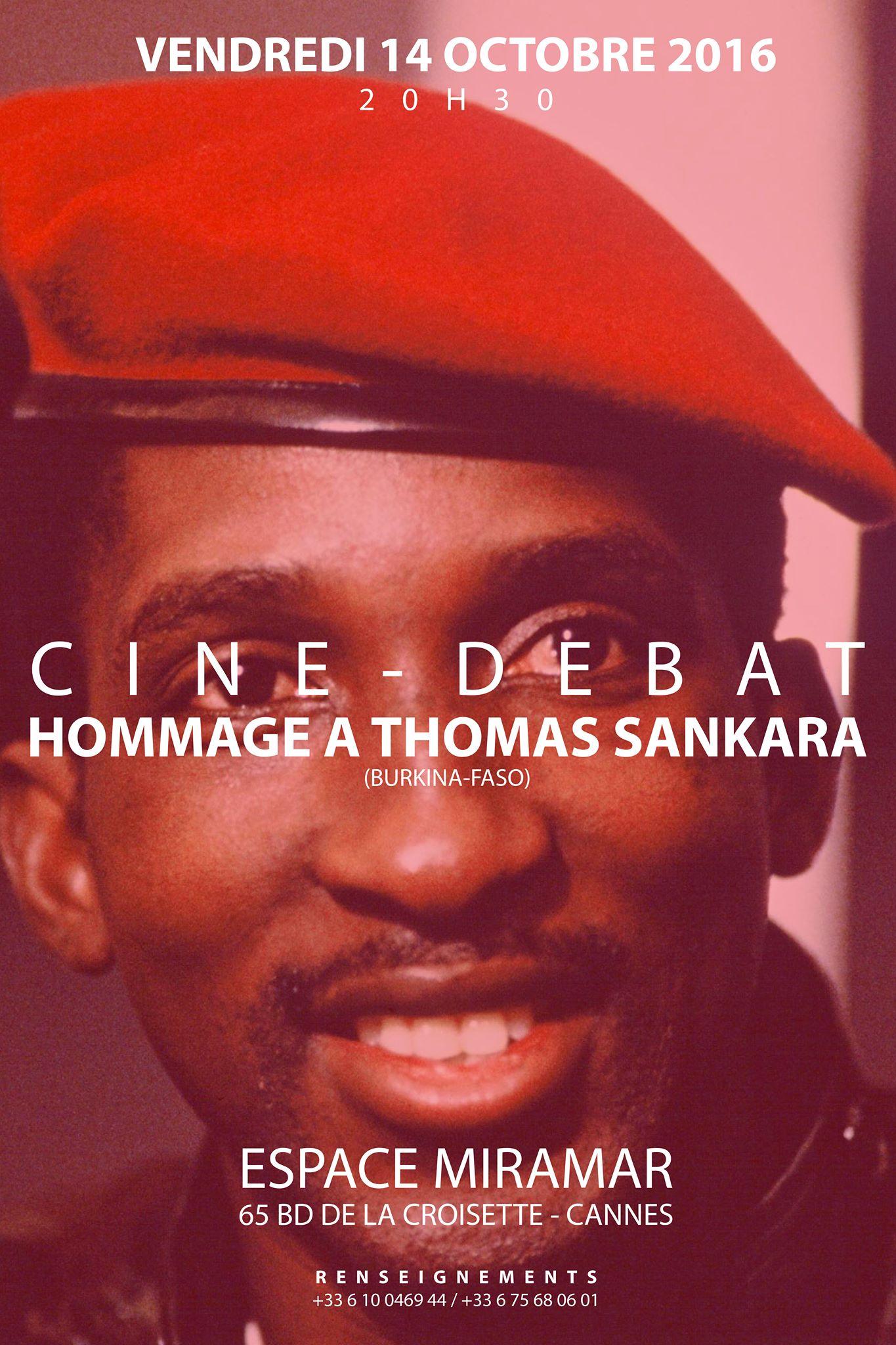 Hommage Thomas Sankara